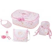 Babypoppen verzorging tas Maria princess