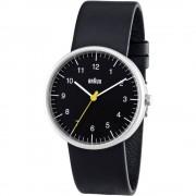 Ručni sat BN0021BKBKG ( x V) 38 mm x 8.5 mm plemeniti čelik, kućište: plemeniti čelik, materijal narukvice: prava koža,