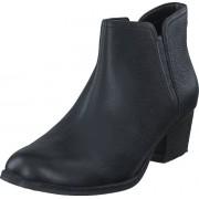 Clarks Maypearl Ramie Black Leather, Skor, Kängor & Boots, Chelsea Boots, Grå, Dam, 39