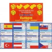 ZooBooKoo kubusboek - Europa Kaart,Vlaggen, Weetjes