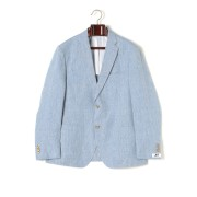 【84%OFF】Trent ノッチドラペル テーラードジャケット ブルー 46 ファッション > メンズウエア~~ジャケット