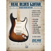 Alfred Music Real Blues Guitar Chipkin, Book and CD
