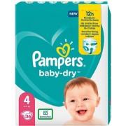 Pampers luiers baby dry maat 4 maxi (8-16kg)