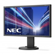 Monitor LED IPS NEC MultiSync E243WMi 23.8 inch 6 ms Black
