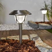 High-quality LED solar light Attila in set of 2