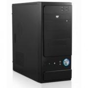Case Black con alimentatore 500W Powerx 4 porte usb frontali