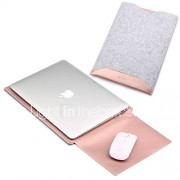 Mouwen voor MacBook Pro 15'' MacBook Air 13'' MacBook Pro 13'' MacBook Air 11'' Macbook Effen Kleur PU-leer Materiaal
