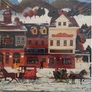 Winter Village 551 Piece Jigsaw Puzzle by Kaatz