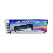 Синтезатор 37 клавиш, 54 см, батарейки в комплект не входят
