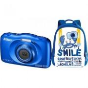 Nikon Aparat NIKON Coolpix W150 Niebieski + Plecak
