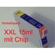 Vorteilspack 14 Tintenpatronen a 15ml f. Epson Stylus Photo R265 R285 R360 RX560 RX585 RX595 RX685 kompatibel