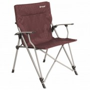 Outwell - Goya Chair - Chaise de camping taille 68 x 63 x 90 cm, rouge/gris