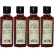 Khadi Pure Herbal Honey Almond Oil Shampoo - 210ml (Set of 4)