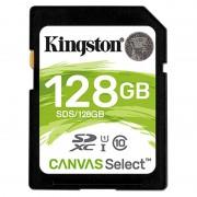 Cartão de Memória SDXC Kingston Canvas Select UHS-I SDS/128GB - 128GB