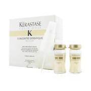 Fiole tratament pentru par cu fir subtire fara volum Kerastase Fusio-Dose Concentre Densifique, 10 12 ml