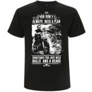 You Dont Always Need A Plan T-shirt (S)