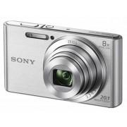 Sony DSC-W830S, srebrna, 20.1Mpx, 8x opt. 25-200mm f3.3-6.3, 24mj