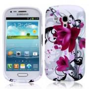 Samsung I8190 Galaxy S III Mini Flora V5 Силиконов Калъф + Проте