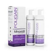 FOLIGAIN MINOXIDIL 2% HAIR REGROWTH FOAM For Women 6 Month Supply