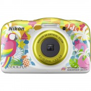 Digitalni fotoaparat Nikon W150 Hawaii 13.2 MPix Zoom (optički): 3 x Šarena boja, Bijela Vodootporno, Otporan na prašinu, Otpora