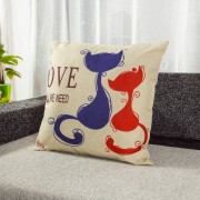 Coussin Chat Love