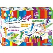 Ekta 4 in 1 Colour Wipe