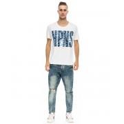 Happiness T-shirt HPNS BART WEB, bianco