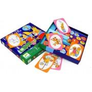 DJECO Gra dyskusyjna dla dzieci BLA BLA BLA, gra rozwijająca słownictwo i wyobraźnię, historyjki,