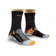 X-Socks Winter Hardloopsokken grijs/zwart 42-44 2018 Hardloopsokken