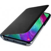 Samsung Wallet Cover Galaxy A40 Black