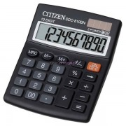 Calcolatrice SDC-810BN Citizen - nero - SDC-810BN - 381191 - Citizen