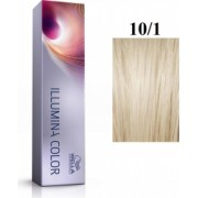 Wella Professionals Vopsea permanenta Wella Professionals Illumina Color 10/1 Blond Luminos Deschis Cenusiu 60ml