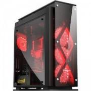 ATX Mid tower kутия за настолен компютър SEGOTEP T5 черна
