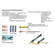 Dibluri perforate pentru ancore chimice 20/85