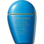 Shiseido Sun Care Protective Liquid Foundation Base líquida à prova de água SPF 30 tom Medium Ivory 30 ml