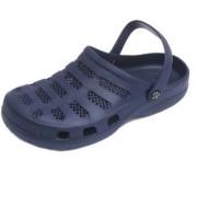 Svaar Comfy Navy Blue Men Clog Crocs