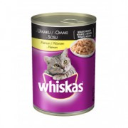 WHISKAS hrana za mačku, konzerva, piletina 400g 520098