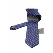 Cravata CK Calvin Klein - dungi albastre