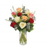 Interflora Bouquet Rouge pastel