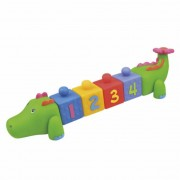 Ks Kids Krokodilos kocka építgető játék