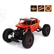 Sanyal Rock Crawler Off Road Race Monster Truck 4WD 2.4GHz Multi-Character Super Heroes Battle Racing Car -Multi Colour
