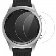 miimall premium HD clara 9H dureza de vidrio templado protector de pantalla pelicula para Samsung Gear S3 (2 PCS)