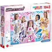 Puzzle fete Maxi Miracle Tunes Clementoni 104 piese