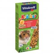Baton pentru Hamsteri Vitakraft cu Fructe si Cereale, 2buc
