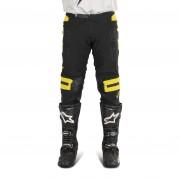 FOX Pantalones de Cross Fox Flexair Preest Negro-Dorado MX 18