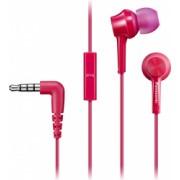 Casti Panasonic RP-TCM115E-P In-ear Microfon Roz
