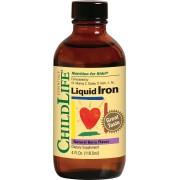Liquid Iron 10mg 118.50ml (cu gust de fructe)