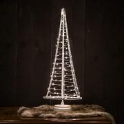 United Christmas United LED Mini-Weihnachtsbaum 120 LEDs 51cm - Indoor Weiß
