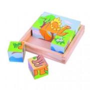 Puzzle cubic - dinozauri