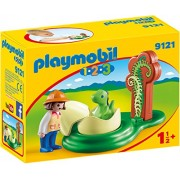 Playmobil 1-2-3 Boy with Dino Baby in a Egg